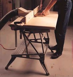 workmate router table