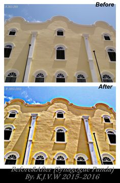 https://flic.kr/p/Fk18S2 | Before & After: 7 | SynagoguePunda