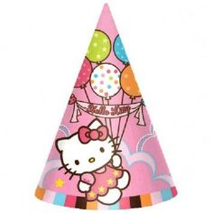 Hello Kitty Cone Hats