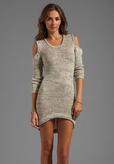 Cute sweater dress! I'd wear leggings with it though an some boots !
