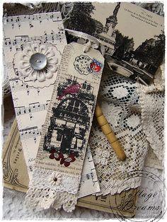 Arcanum and Poe/Boston-ish Creative Bookmarks, Diy Bookmarks, Art Origami, Oragami, Book Markers, Paper Cards, Book Crafts, Bookbinding, Tag Art