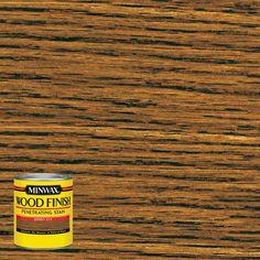 Minwax 8 oz. Wood Finish Honey Oil-Based Interior Stain (4-Pack)