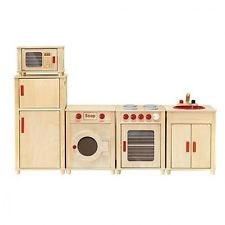 Viga Kids Wooden Kitchen Set - Fridge/Microwave/Oven/Washing Machine AND Sink Kids Wooden Kitchen, Play Kitchen Sets, Corner House, Australia Living, Microwave Oven, Cooking Utensils, Diy For Kids, Washing Machine, Laundry