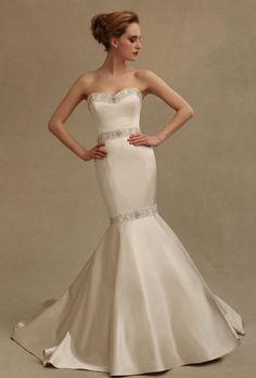 1975 Eve of Milady bridal gowns | Eve of Milady - 1502 | Wedding Dresses Photos | Brides.com