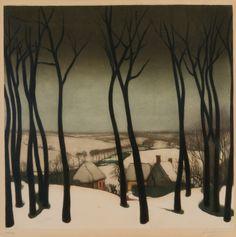 Valerius de Saedeleer (1867 - 1941) Winter Landscape, N/D