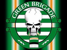 Celtic - Green Brigade Celtic Green, Skinhead Fashion, Celtic Fc, Association Football, Glasgow, Liverpool, Irish, Wallpaper Ideas, Banksy