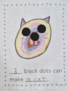 Ten Black Dots: A Math Mentor Text:  FREE Printables for a Class Book