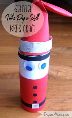 Santa Kids Craft