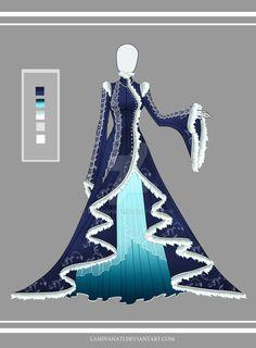 Adoptable outfit 14(closed) by LaminaNati