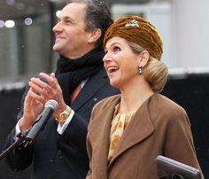Máxima de Holanda se apunta a la moda de los turbantes para sus actos oficiales