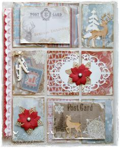Noor! Design U.K.: Winter Pocket Letter and cards