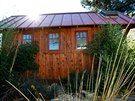 Jay Shafer navrhl domek o obytné ploše 11,1 metru čtverečních, který nabízí...