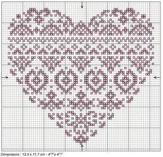 Coloris cross stitch chart