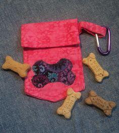 Dog Walker Treat Bag or Dog Waste Bag Holder by FurriPersonal, $6.00