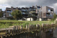 Residential complex Ciekurkrasti / AB3D