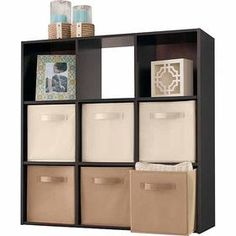 ClosetMaid Cubeicals 9-cube organizer... Perfect for boys room  sc 1 st  Pinterest & System Build™ 9-Cube Cubby Resort Cherry from Big Lots | For The ...