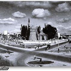 Aksaray - Vatan ve Millet caddeleri - Murat Paşa Camii - 1957