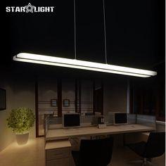 Newest Design Modern LED Pendant Lights for Dining Room White Acrylic LED Pendant Lamp Contemporary L100CM H150CM #Affiliate