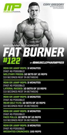 Fat Burner 122 llir.biz/fz?PTu