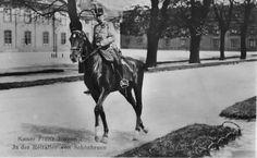 Keizer Franz Jozef op zijn paard