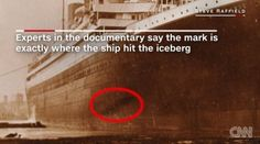 Las últimas fotos del Titanic siembran la duda sobre la causa del naufragio