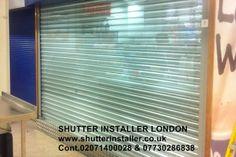 #ShopFrontsShutterLondon SHUTTER INSTALLER LONDON www.shutterinstaller.co.uk Cont.02071400028 & 07730286838