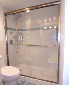We Install Bi Fold Shower Doors Cottage Series Semi