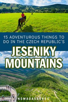 Don'T just only visit prague when you travel the czech republic! here are 15 adventurous things to do in the breathtaking jeseniky mountains! Travel Tips For Europe, Hiking Europe, Places To Travel, Travelling Europe, Travel Destinations, Adventurous Things To Do, Visit Prague, Roadtrip, Travel Guides