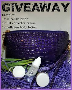 Free Giveaway: make up bag with 3 samples pots    Enter Here: http://www.giveawaytab.com/mob.php?pageid=855821904525942