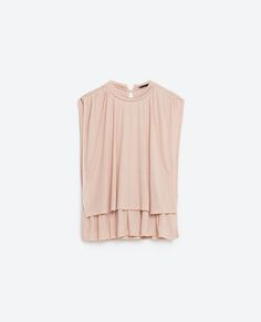 Image 8 of HIGH NECK TOP from Zara