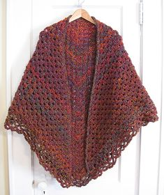 Ravelry: Crochet Triangular Shawl pattern by Jan Corbally