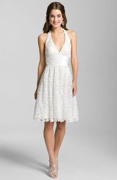 The Little White Dress: Short and Sweet Dresses For The Bride - Really love this one!!!