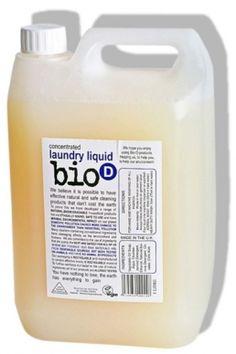 Bio-D Οικολογικό Βιοδιασπώμενο Συμπυκνωμένο Υγρό Απορρυπαντικό Ρούχων 5LT