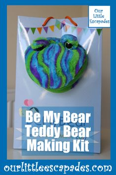 We were asked to review a Teddy Bear Making Kit from Be My Bear