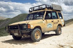 The Camel Trophy Land Rover That Just Won't Die - Land Rover - ExPo: Adventure and Overland Travel Enthusiasts