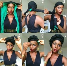 turban african american - Google Search