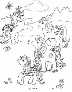 My Little Poney - 999 Coloring Pages