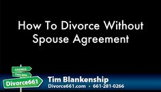 You Don't Need Your Spouse To Agree When You File For Divorce   Yes, you have read that right. And let me tell you how that is possible. Kindly read/watch the article and video on the link below.