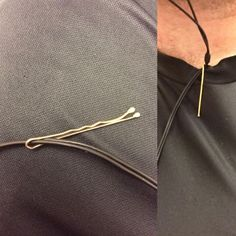 Headphone Cord Shortener | 18 Bobby Pin Hacks for Survival