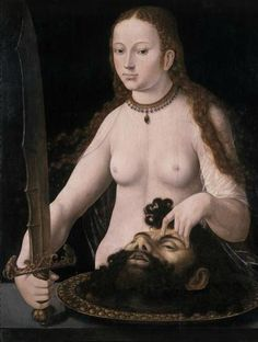 Hans Baldung- Judith with the Head of Holefernes