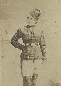 Unidentified woman, c. 1885-90
