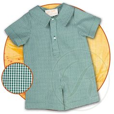 Green Gingham Shortall 15F AYR 5396SA GR