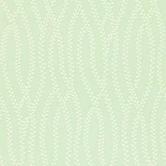 Sanderson Ester Duck Egg / Ivory Wallpaper main image