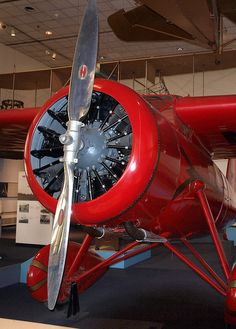 Amelia Earhart's plane, National Air and Space Museum | Flickr - Photo Sharing!