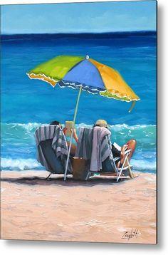 Just Leave A Message Iv ~Laura Lee Zanghetti beach painting! Umbrella Painting, Umbrella Art, Sand Painting, Parasols, Umbrellas, Beach Artwork, Seascape Paintings, Beach Paintings, Ocean Art