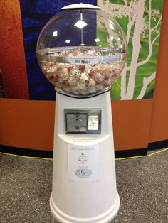 Cupcake vending machine by A Sweet Event Vending Machine, Candy Buffet, Buffets, Cupcake, Sweet, Inspiration, Candy, Biblical Inspiration, Buffet