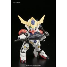 BB Senshi No.402 Gundam Barbatos Lupus DX