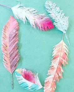 Aqua + Pink + Peach, I seem to craft in the same colors again and again and again. ✂️