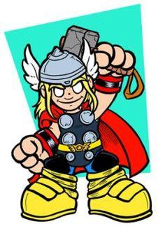 Classic Thor Mini by ArtofJoshLyman