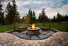 Stylish Backyard Fire Pit Ideas Landscaping 10 Outdoor Fire Pits That Will Take A Backyard From Ordinary To - Backyard landscape design is one that adds pr Sunken Fire Pits, Diy Fire Pit, Fire Pit Backyard, Fire Pit Landscaping, Small Backyard Landscaping, Landscaping With Rocks, Backyard Designs, Backyard Ideas, Landscaping Ideas